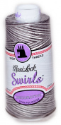 Maxi Lock Swirls Espresso Silk Serger Thread 53-M63
