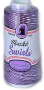 Maxi Lock Swirls Purple Berry Wave Serger Thread 53-M58