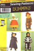 Simplicity 4467 Sewing for Dummies Toddler Costumes Size A
