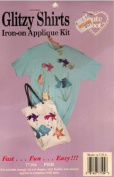 Glitzy Shirts Iron-on Applique Kit Fish Design