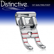 Distinctive 2.5cm - 10cm (Quarter Inch) Quilting Sewing Machine Presser Foot - Fits All Low Shank Snap-On Singer*, Brother, Babylock, Euro-Pro, Janome, Kenmore, White, Juki, New Home, Simplicity, Elna and More!