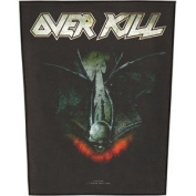 XLG Overkill For Those Who Bleed Trask Metal Music Band Applique Patch