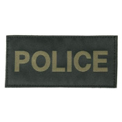 11800 - Patch Police Grn/Blk