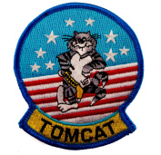US Navy Grumman F-14 Tomcat Fighter Embroidered Patch