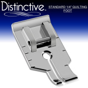 Distinctive Standard 2.5cm - 10cm Quilting/Sewing Machine Presser Foot - Fits All Low Shank Snap-On Singer*, Brother, Babylock, Euro-Pro, Janome, Kenmore, White, Juki, New Home, Simplicity, Elna and More!