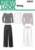 New Look Sewing Pattern 6838 Misses Separates, Size A