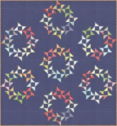 Thimble Blossoms ROUND & ROUND Quilt Pattern