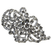 Rhinestone Brooches BW-103 Rhinestone Brooch with Pin