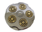 Revolver Chamber with Bullets Belt Buckle