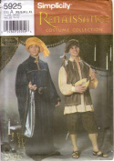 Simplicity Sewing Pattern 5925 Men's or Teen Boys' Renaissance Faire Costumes