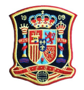 SPAIN SOCCER SHIELD PATCH