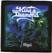 King Diamond-Abigail-Woven Patch