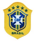BRAZIL SOCCER SHIELD PATCH