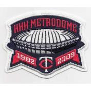2009 Minnesota Twins HHH Metrodome Final Season Patch