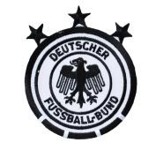 GERMANY SOCCER SHIELD PATCH w/star