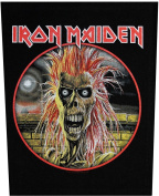 XLG Iron Maiden Rock Music Band Woven Applique Patch