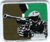 Paintball Airsoft Camoflauge Camo (5 PACK) Logo Self Adhesive Sticker Patch