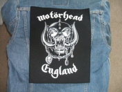 Motorhead England Giant Back Patch