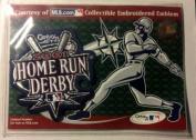 2001 Home Run Derby MLB Patch Baseball