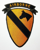 Airborne patches Military US ARMY patches 12x14.5 cm iron on patch / Embroidered Patch This appliques are great for T-shirt, hat, jean ,jacket, backpacks.