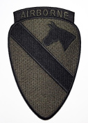 Airborne Patches Military US Army Patches 9x14 Cm Iron on Patch / Embroidered Patch This Appliques Are Great for T-shirt, Hat, Jean ,Jacket, Backpacks.