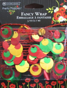 Autumn Leaves Fancy Wrap Wired Ribbon