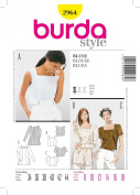Burda Blouse Sewing Pattern 7530cm Sizes 8 - 18
