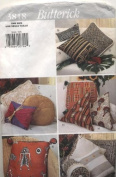 Butterick Pillow Package for 13 Pillows Sewing Pattern 3818
