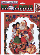 Daisy Kingdom Iron-On Transfer All Santa's Children #0116-08007