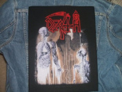 Death Human Giant Back Patch