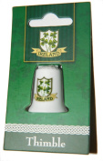 Irish Shamrock and Shield Collectors Thimble
