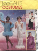 McCall's Costumes Girls Glamour Girl Sewing Pattern #2384