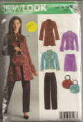New Look 6519, Misses' Wardrobe, Size A(10-22), OOP