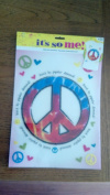 Peace Sign Iron-on Transfer