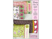 Sleep on It Girl Pillow Case - Black Mountain Quilts Pattern