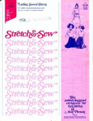 Stretch & Sew 425 Sewing Pattern Ladies Gored Skirts Hip 30 - 46