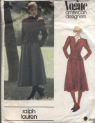 Vintage Vogue 2615 Jacket and Skirt Ralph Lauren Sewing Pattern