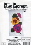 The Flag Factory Pansy Pattern