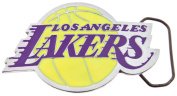 Officially Licenced Cut Out Los Angeles Lakers NBA Logo Belt Buckle