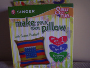 Singer Sew Fun Make Your Own Pillow with Secret Pockets