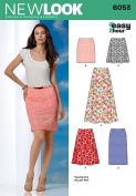 New Look 6053 Misses' Skirts Sewing Pattern, Size A