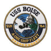 USS Cities Patches - USS Boise W01S49A