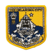 USS Cities Patches - USS Oklahoma City W01S49A