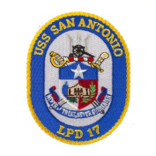 USS Cities Patches - USS San Antonio W01S49A