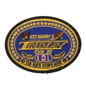 USS Presidents Patches - USS Harry Truman W01S41E