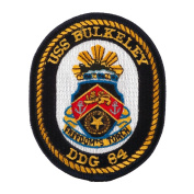 USS Rope Border Patches - USS Bulkeley W01S42E