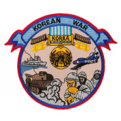 War Banner Patches - Korean War W01S45D
