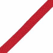 Venus Ribbon 1.6cm Cotton Foldover Braid, 5 Yards, Tomato