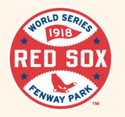 MLB World Series Logo Patch - 1918 Boston Red Sox