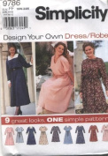 Simplicity Design Your Own Dress Sewing Pattern #9786
